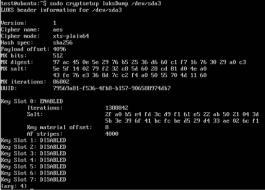 Securing Linux Full Disk Encryption with A Multi-Factor